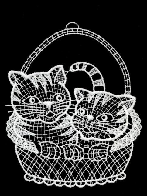 Katzenkorb Plauener Spitze