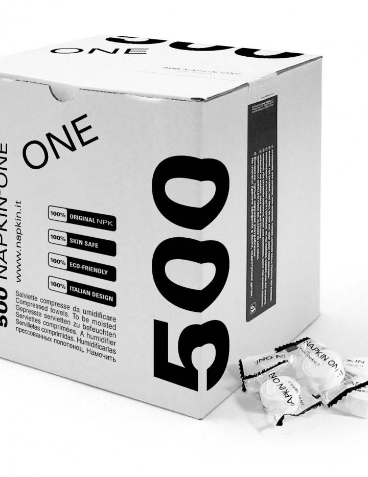 500 Servietten einzeln verpackt