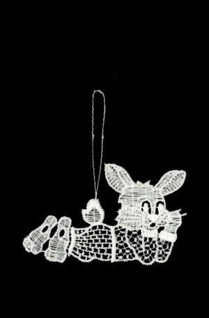 Hasenkind aus Plauener Spitze – freut sich auf versteckte Eier